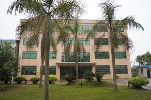 12BET注册纺织梭织12博客户端厂办公大楼